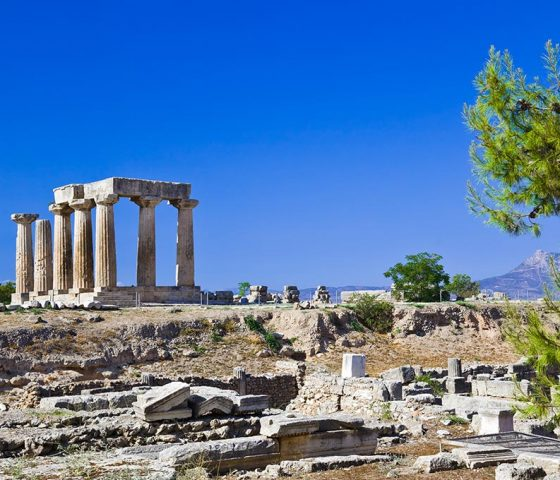 Image of Corinth. Tours of Athens