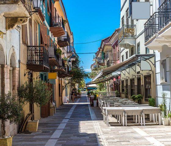 Image of Nafplio city. Tours of Athens