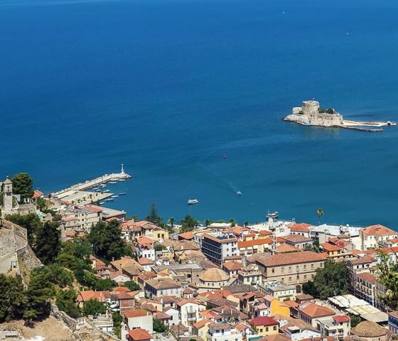 Image of Nafplio city. Tours of Athens