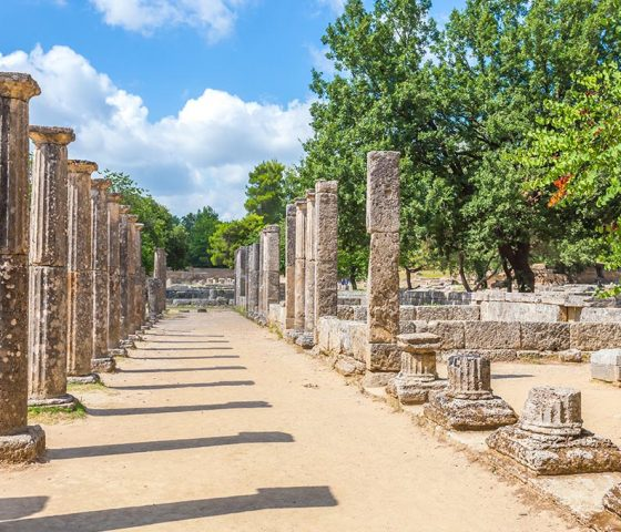 Image of Olympia. Tours of Athens