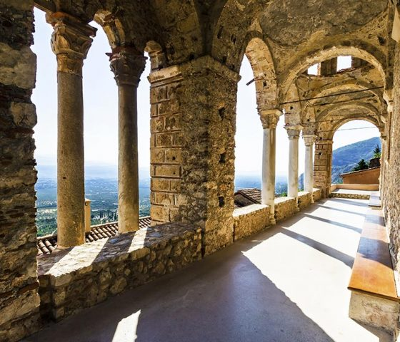 Image of Mystras. Tours of Athens