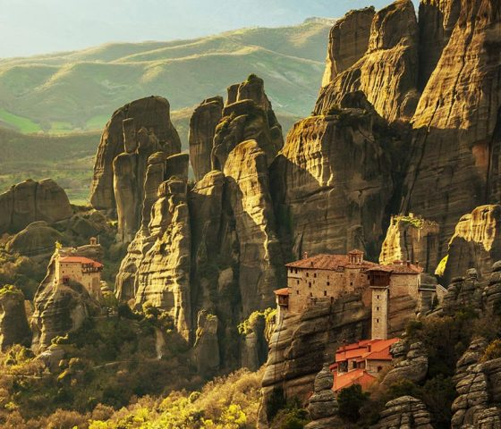 Image of Meteora. Tours of Athens