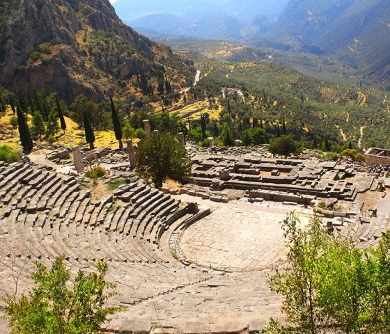 Image of Delphi. Tours of Athens.