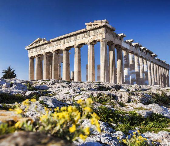 Acropolis in Athens. Athens-Limo