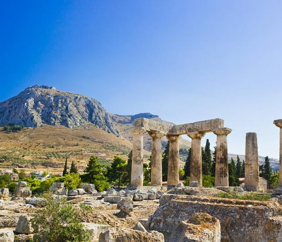 Ancient Corinth. Athens-Limo