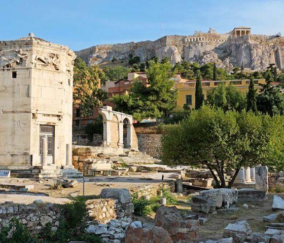 Agora in Athens. Athens-limo
