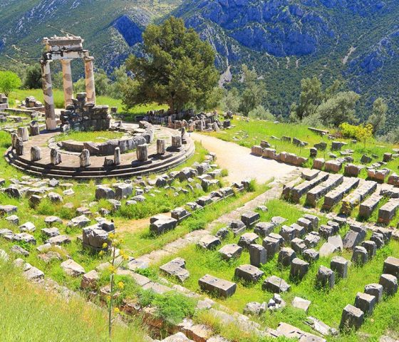 Delphi. Athens-Limo