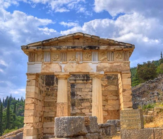 Tour to Delphi by Athens Limo